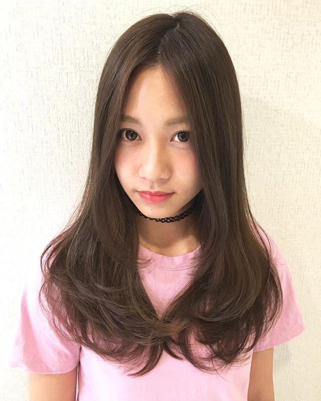 30代女性 髪色 アッシュ4