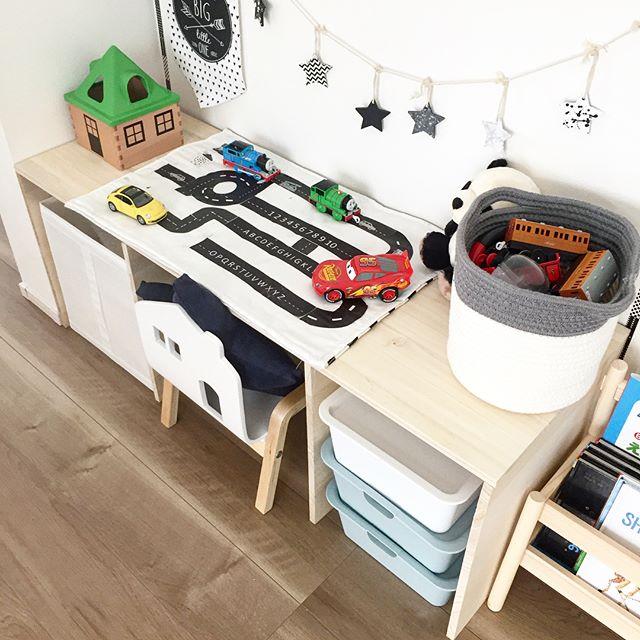 木のぬくもりが溢れる人気の子供部屋
