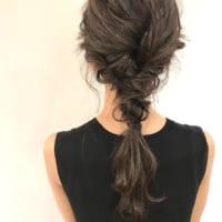 黒髪ロングヘアアレンジ特集!大人女性のおしゃれな簡単まとめ髪をご紹介♪