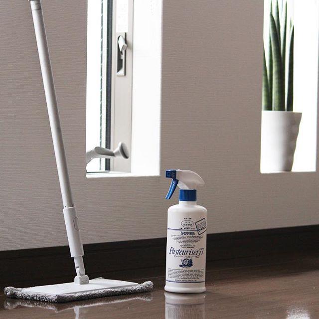 【無印】フローリング水拭きモップで床の水拭き掃除
