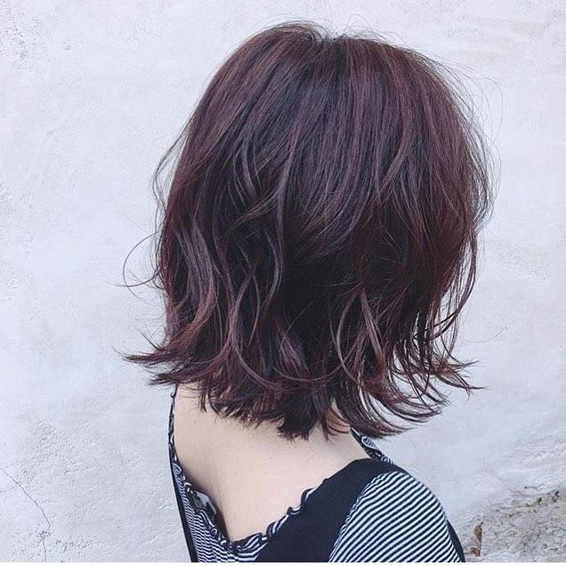 40代女性におすすめの髪色19
