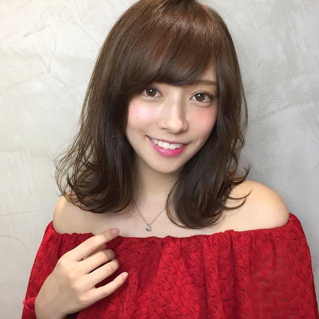 スーツ ヘアアレンジ 巻き髪3