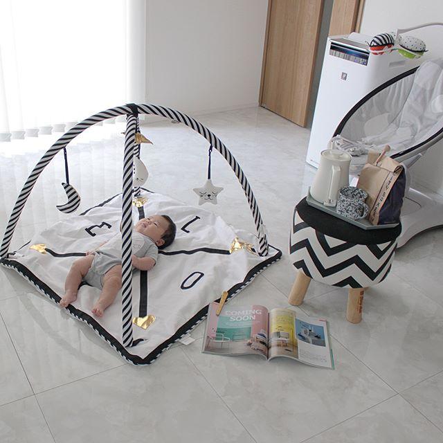 赤ちゃん リビングインテリア