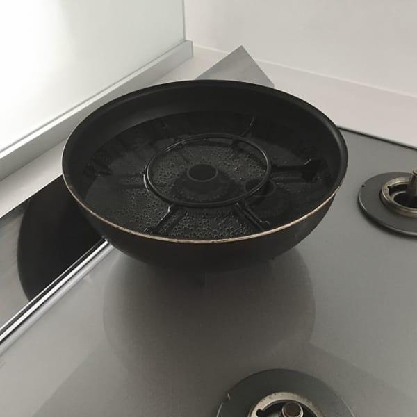 五徳の基本の煮洗い方法