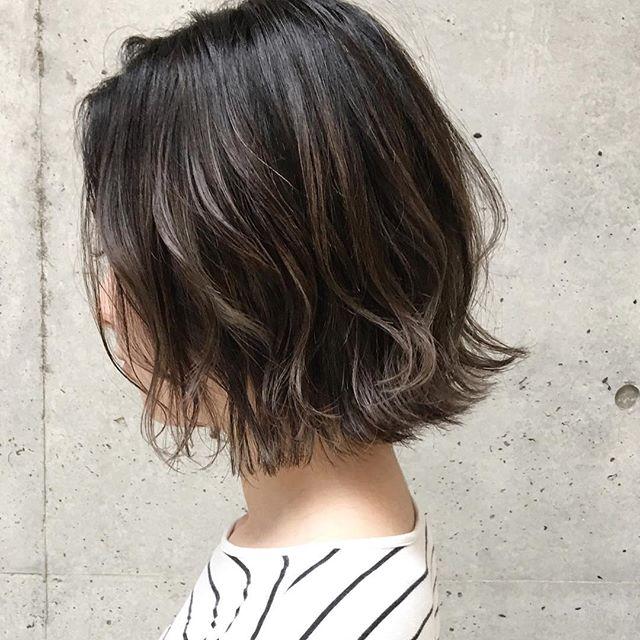 40代女性におすすめの髪色9