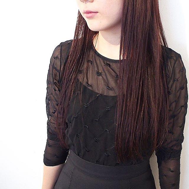 40代女性のヘアアレンジ セミロング・ロング