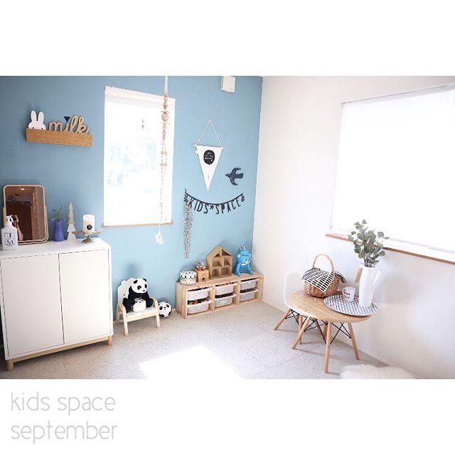 温かさと可愛いらしさに溢れた子供部屋