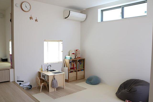 開放感に溢れる素敵なIKEAの子供部屋