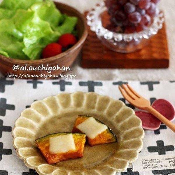 簡単な作り置きに!人気のかぼちゃのチーズ焼き