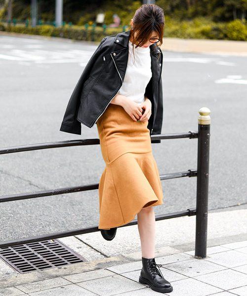 [Fashion Letter] ダブルライダースジャケット / 19秋冬 / 大きいサイズ