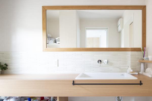 お洒落で実用的!こだわりの洗面所のインテリア実例☆6