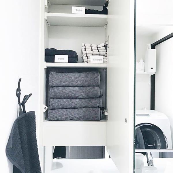 棚とフックを併用するおすすめ収納アイデア