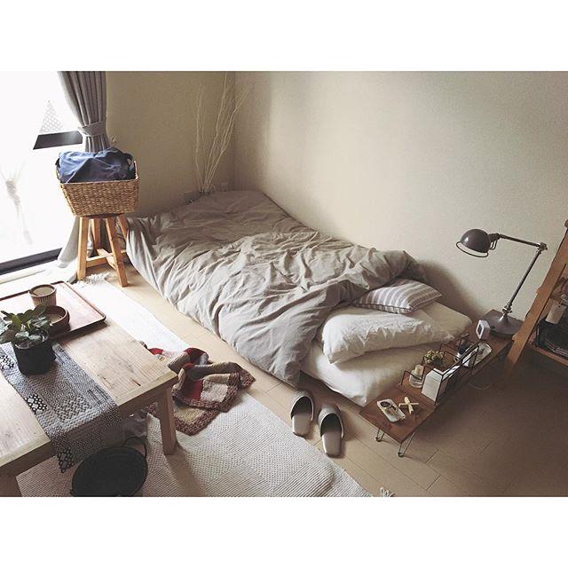 ベッドルームインテリア 一人暮らし2