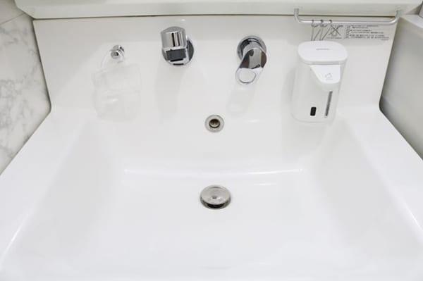 洗面台の綺麗を保つ工夫2