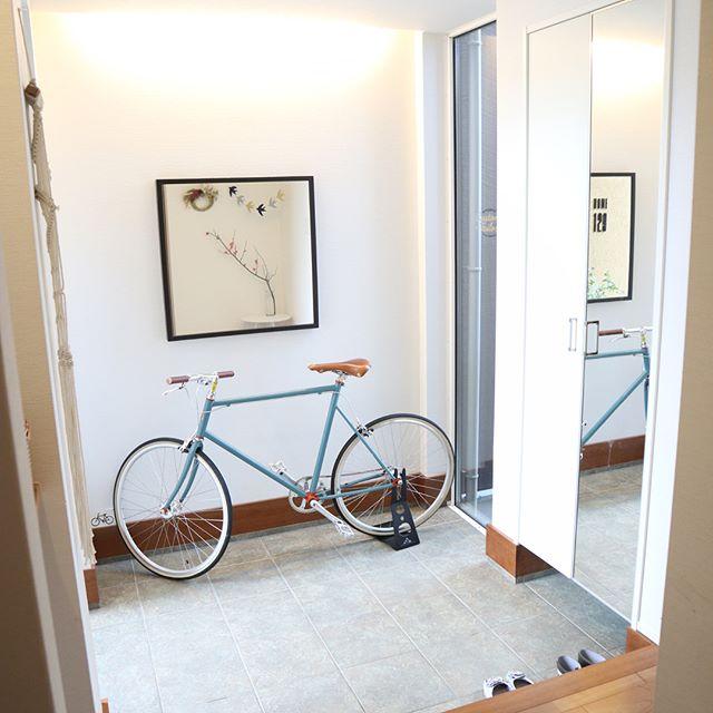 自転車を美しくおしゃれに見せる