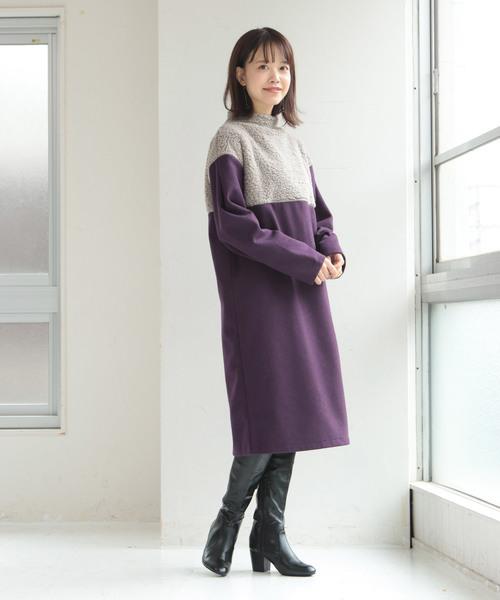 北海道 1月 おすすめ 服装 ワンピースコーデ