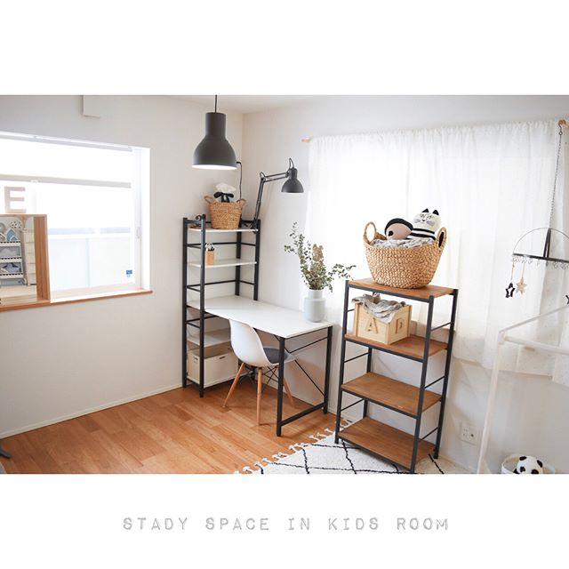 6畳 子供部屋レイアウト 一人部屋3
