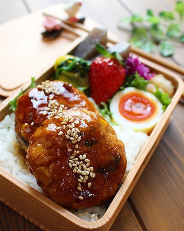 大葉とコーンの人気レシピ!豆腐ハンバーグ