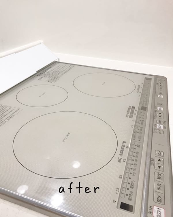 洗剤とラップでIHの基本キッチン掃除の仕方