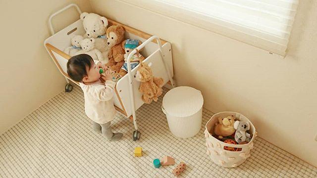 赤ちゃん リビングの収納7