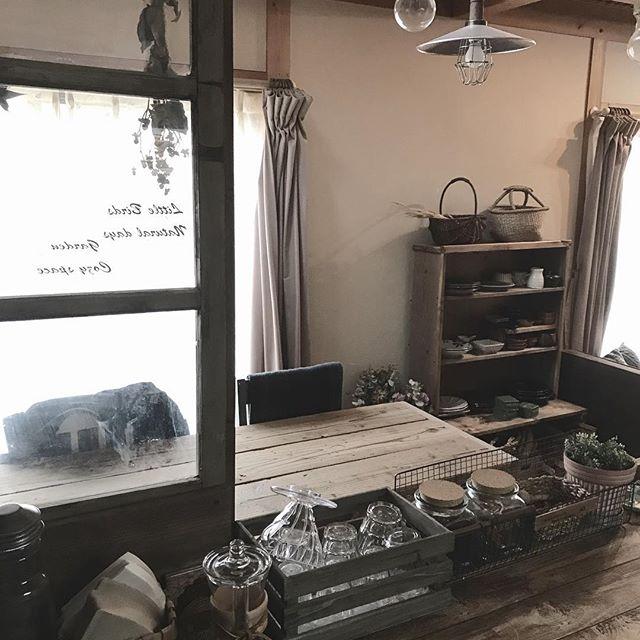 DIY家具を積極的に使って