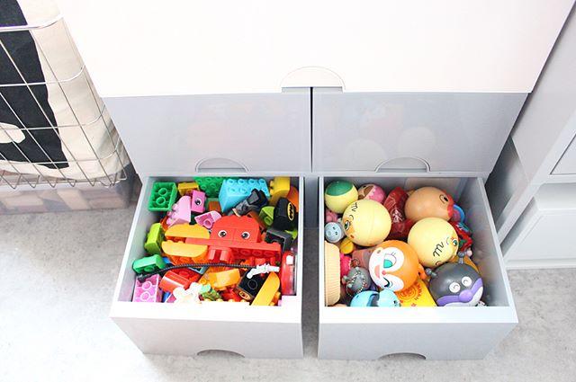 押入れ おもちゃ収納アイデア 引き出し6