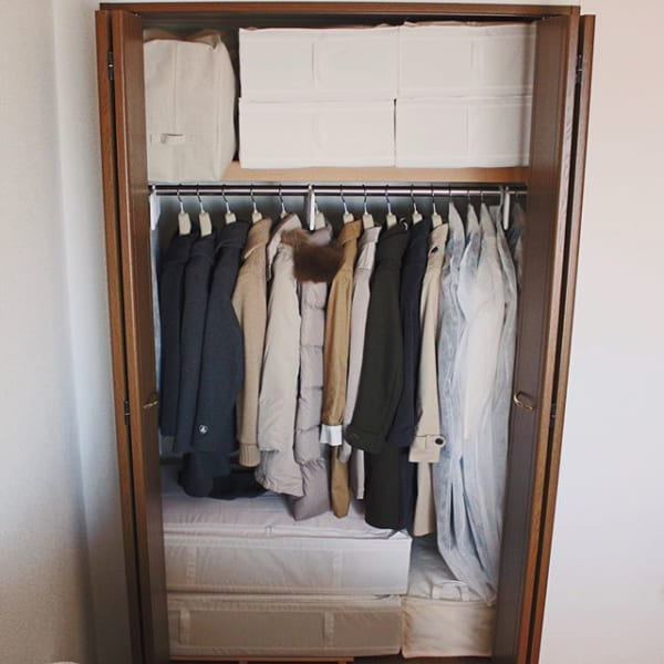 衣服と布団を一緒に整頓するコツ