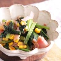 ビタミンたっぷり♡低カロリーが嬉しい小松菜の作り置きレシピを大調査