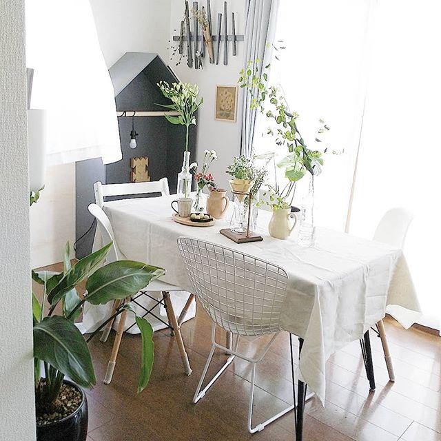 カフェ風 リビングインテリア 家具の選び方8