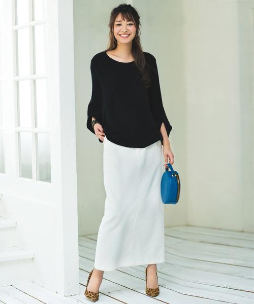 [Ranan] コーデュロイロングスカート
