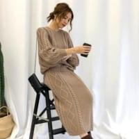 【2020冬】この季節マスト!ニットスカートで作る簡単トレンドコーデ特集