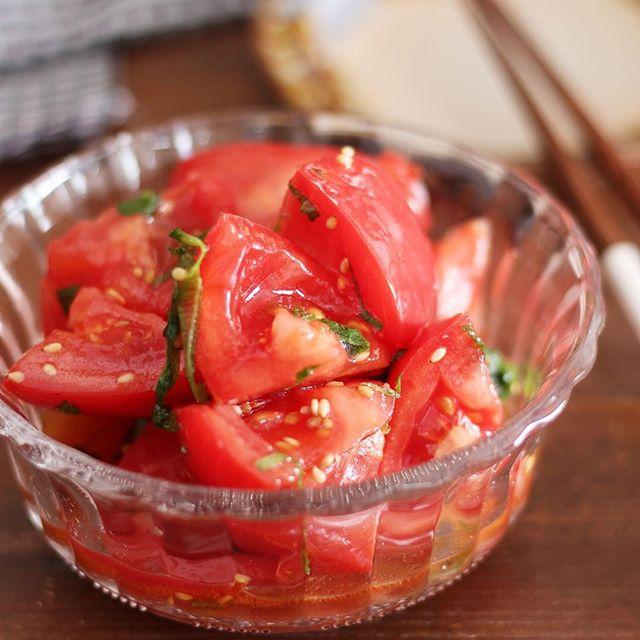 トマト 人気 作り置きレシピ おつまみ5
