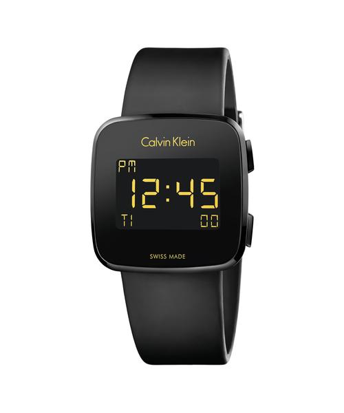 [CALVIN KLEIN WATCHES+JEWELRY] [カルバンクライン] CALVIN KLEIN 腕時計 Future(フューチャー) デジタル ブラック×ブラック