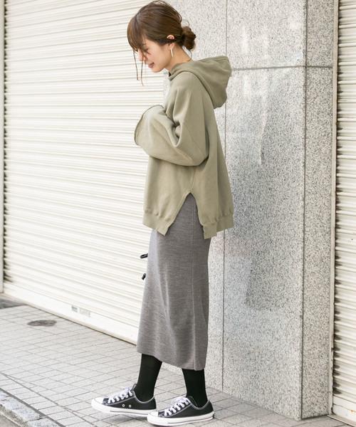 [URBAN RESEARCH] ミラノリブニットタイトスカート