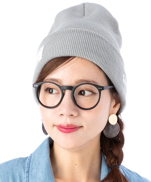 [帽子屋ONSPOTZ] オンスポッツ別注 ニューエラ ニット帽 カフ BASIC MILITARY PATCH NEW ERA