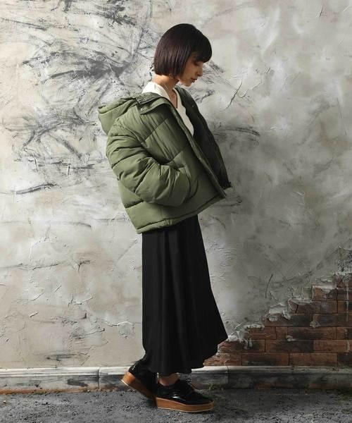 大阪 2月 服装 スカートコーデ8