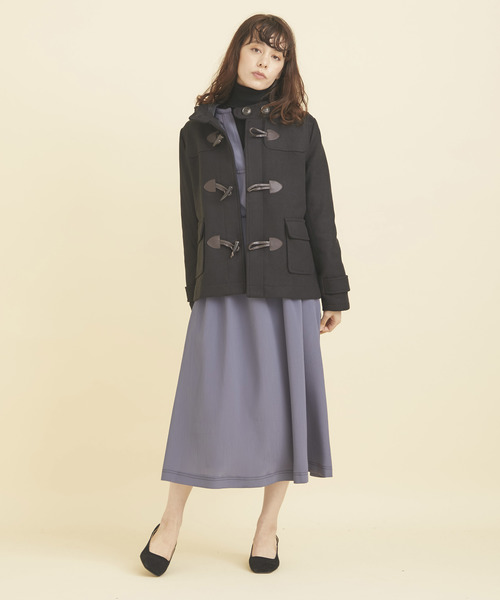 [TOKYO DEPARTMENT STORE] 【Human 2nd Occasion】メルトンショートダッフルコート/84-1588