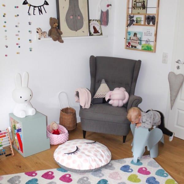 1つ1つの家具がおしゃれな海外の子供部屋