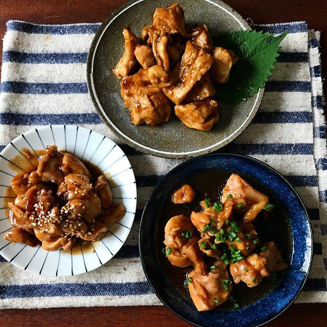 大量消費レシピに!人気の鶏肉のウスターソース煮