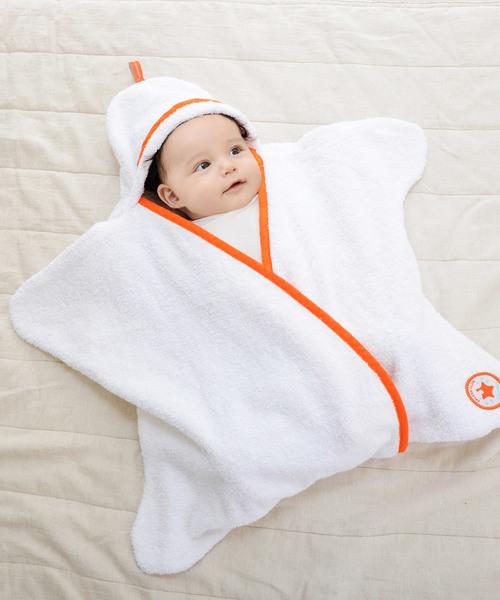 [babybaby] 星型アフガン スターラップ スプラッシュクラブ 0-4M(新生児~生後4ヶ月頃) Tuppence&Crumble (タッペンス&クランブル)