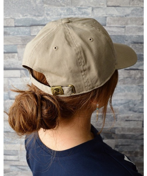 [CLEA] 【newhattan】 ニューハッタン キャップ STONE WASHED TWILL CAP