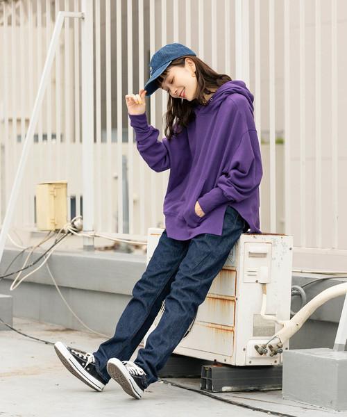 7[ROOP TOKYO] made in standard/メイドインスタンダード スリットワイドパーカー