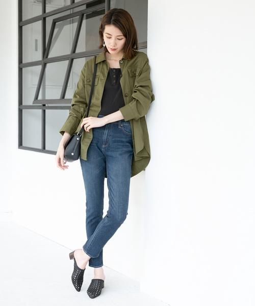 8[LEPSIM] CPOシャツジャケット 841814