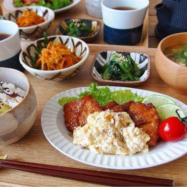 鶏むね肉の料理!チキン南蛮カレータルタルソース