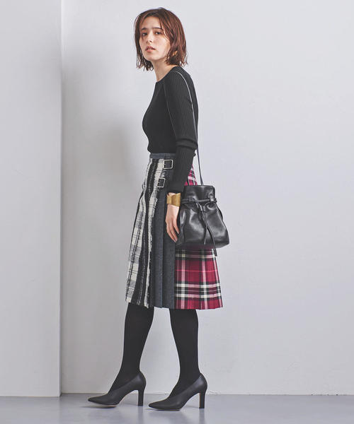[UNITED ARROWS] <O'NEIL of DUBLIN>パッチワーク スカート