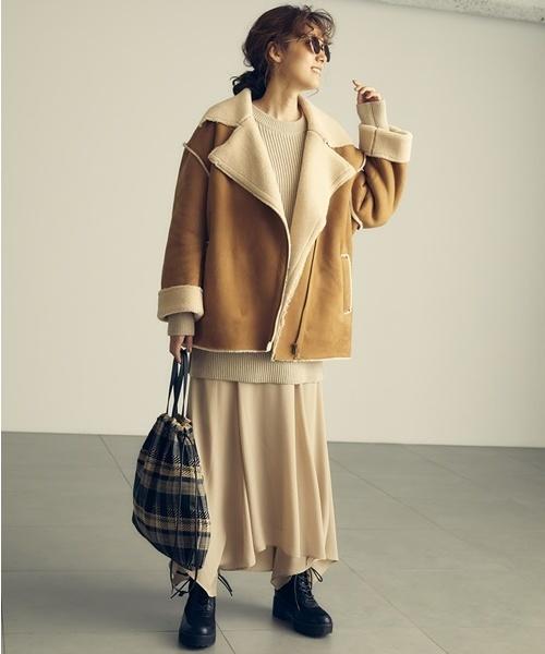 東京 1月 おすすめ 服装 スカートコーデ3