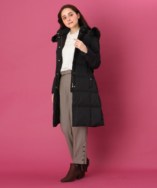 [Couture brooch] 【WEB限定サイズ(S・LL)あり】ロングダウンコート