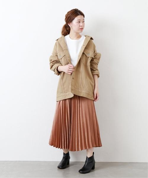 ビッグGジャン×プリーツスカート