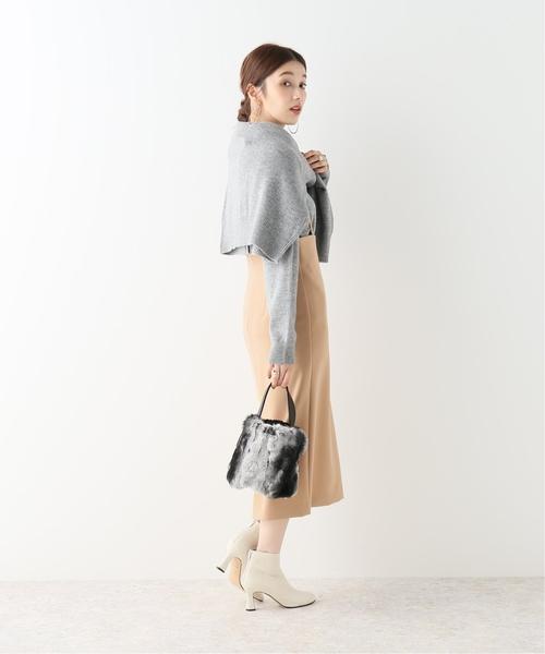 [Spick & Span] ショルダーストラップサロペットスカート5◆