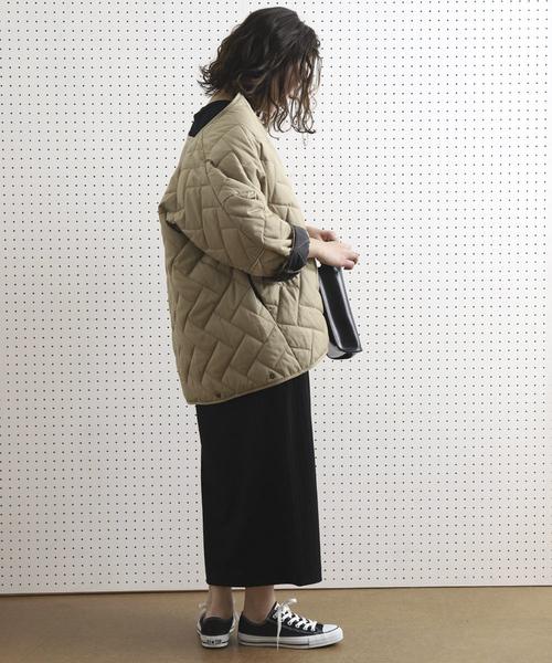 [FREAK'S STORE] 【WEB限定】キルティングジャケット